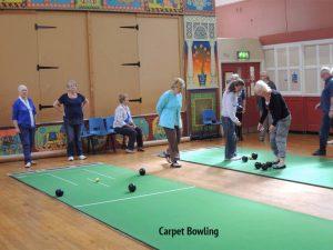 carpet-bowling
